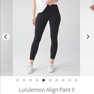 Lululemon align limit edition Santa Monica pants